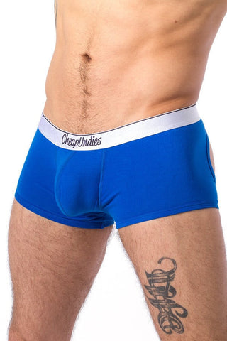CheapUndies Blue Jock Trunk