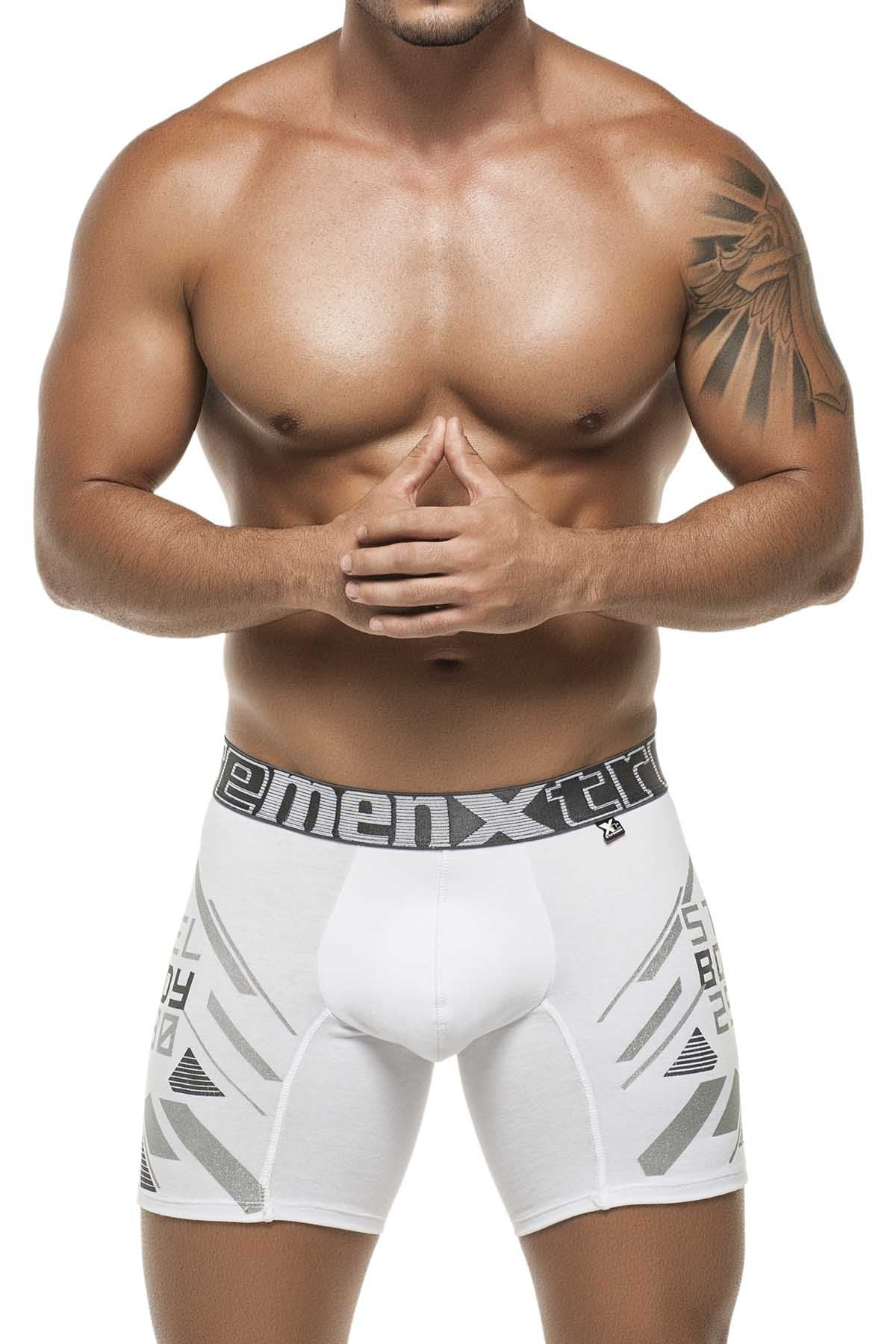 Xtremen White Steel Body Boxer Brief