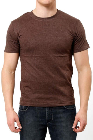 Bottoms Out Brown Knitted Jersey Tee