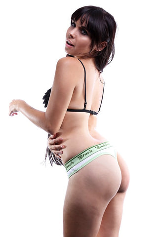 Ginch Gonch Green Classic Thong