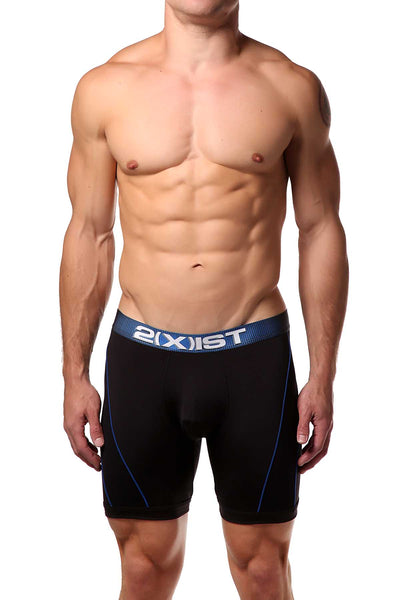 2(X)IST Solid Black Speed 2.0 Boxer Brief - CheapUndies.com