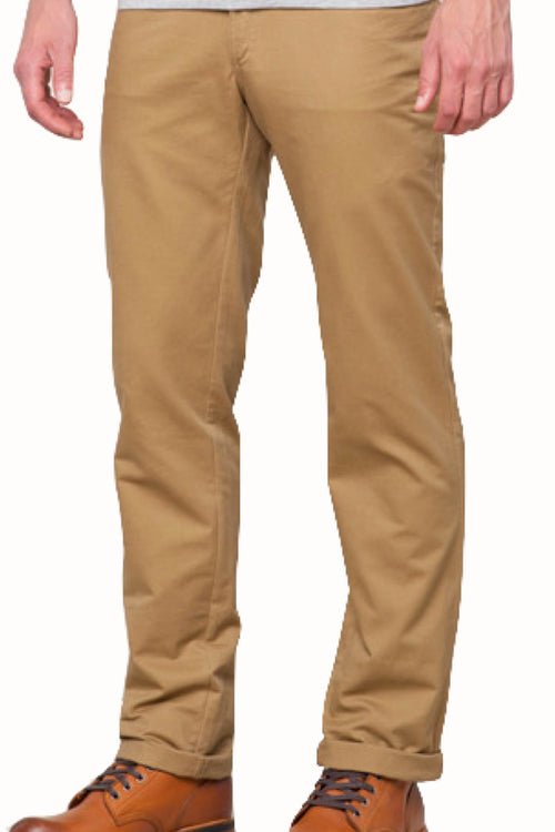 Something Strong Brown Straight Leg 5-pocket Pant - CheapUndies.com