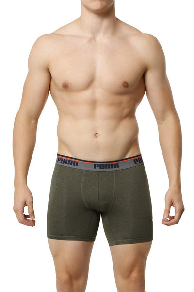 Puma Hunter Green Sport Boxer Brief