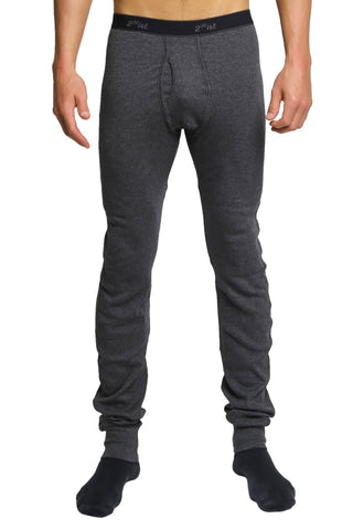 2(X)IST Charcoal Essential Long Underwear