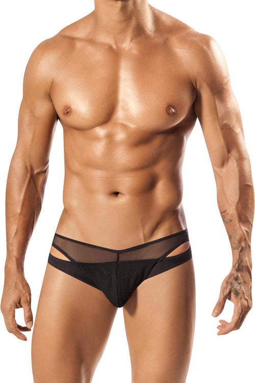 PPU Black Tropos Bikini - CheapUndies.com