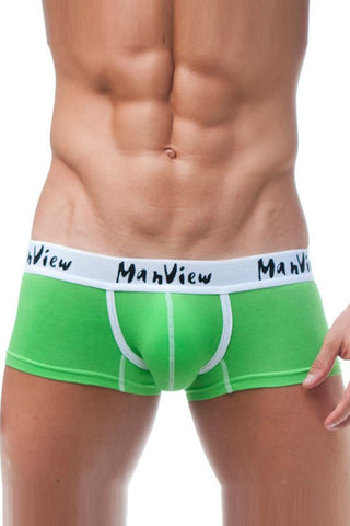 Manview Green Flavour Sport Trunk