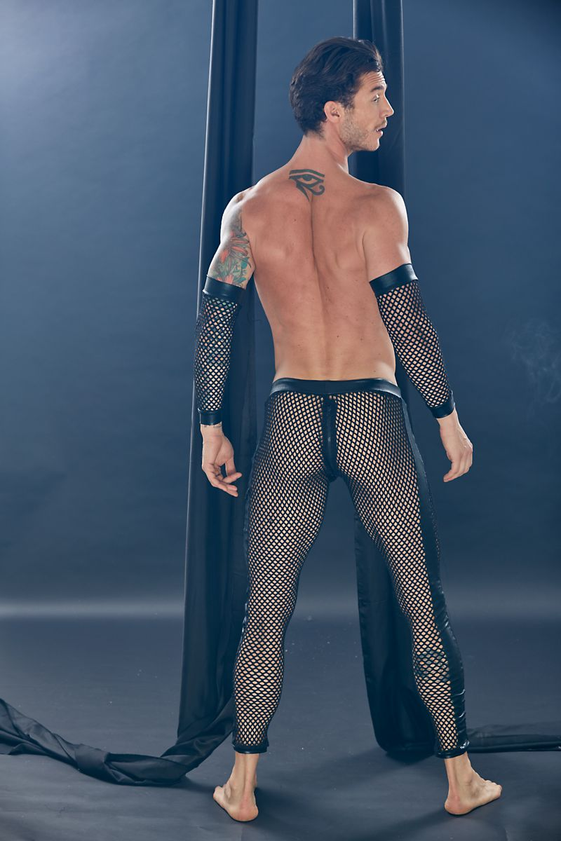 Extreme Collection Dungeon Black Mesh Legging