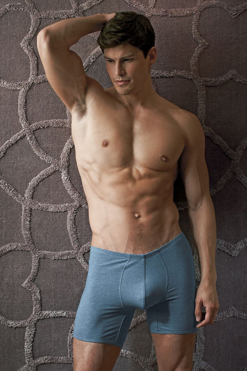 Contour Blue Luxe Jersey Trunk - CheapUndies.com