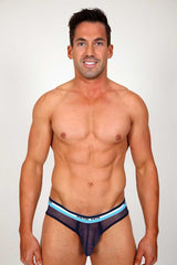 Pistol Pete Navy  Rally Mesh Brief