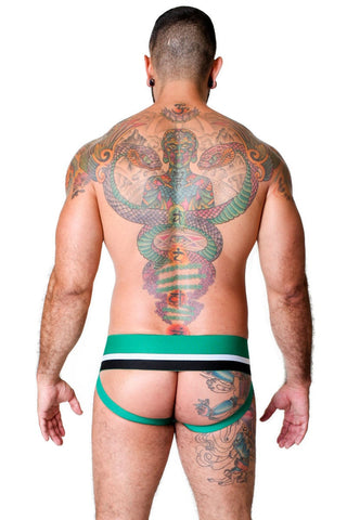 Cellblock 13 Green Enforcer Jockstrap