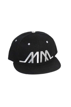 Marco Marco Silver Embroidered MM Snapback