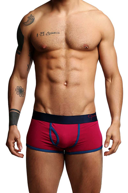 Jam Dark Pink Dots Trunk - CheapUndies.com