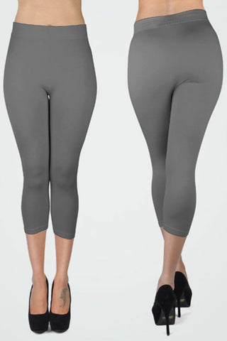 NoLLia Charcoal Capri Leggings