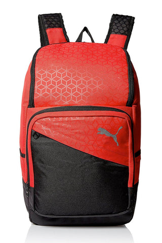 "Puma Black & Red Epoch 19"" Backpack"