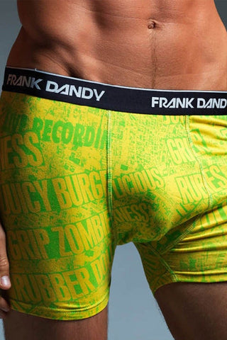 Frank Dandy Yellow Manhattan Punk Boxer