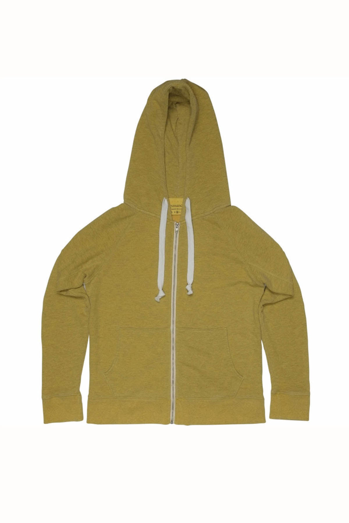 Rxmance Unisex Gold Hooded Zip Sweatshirt