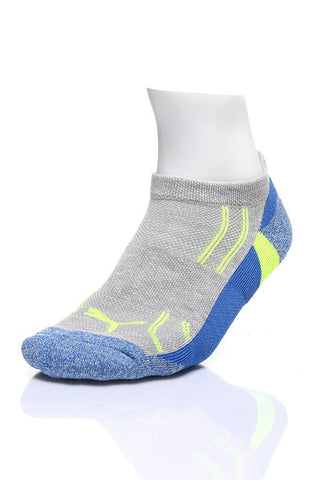 Puma Fluo Blue & Purple Low-Cut 3-Pack Socks