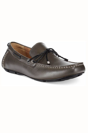Alfani Charcoal Tanner Pebbled Drivers