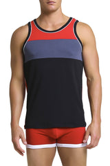 Papi Black & Red Luxe Tank