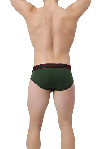 2(X)IST Mountain View Tartan No-Show Brief