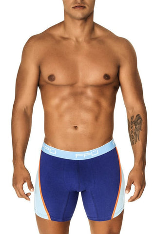PPU Blue Side Panel Boxer Brief
