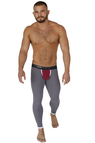 CheapUndies Grey & Red Down Under Pants