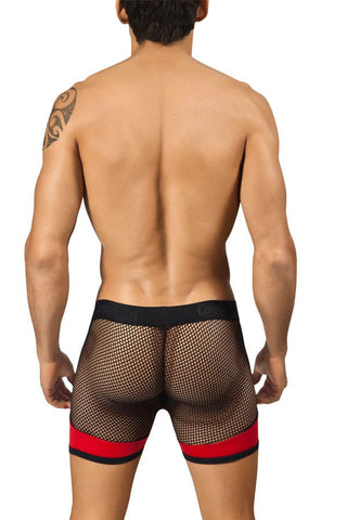 Candyman Red Side Mesh Boxer