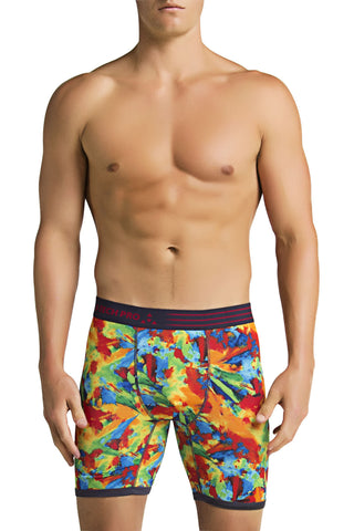 Balanced Tech Rainbow Splash Performance Boxer Brief
