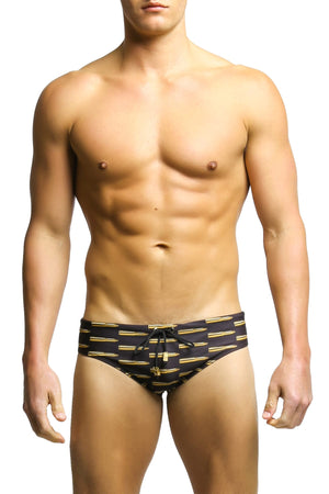 Radical Element Black Ammo Luke Swim Brief