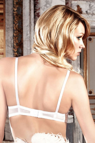 Baci Microfiber and Lace Bra with Underwire