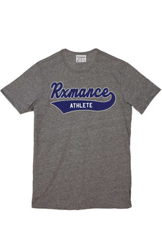 Rxmance Heather Grey Script Crew Tee