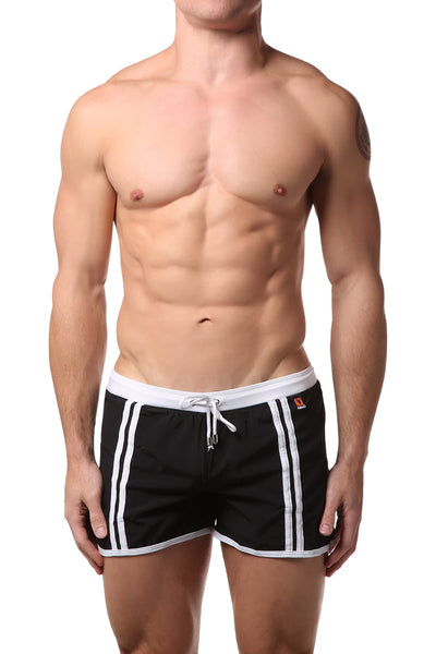 Gigo Black Active Swim Short - CheapUndies.com