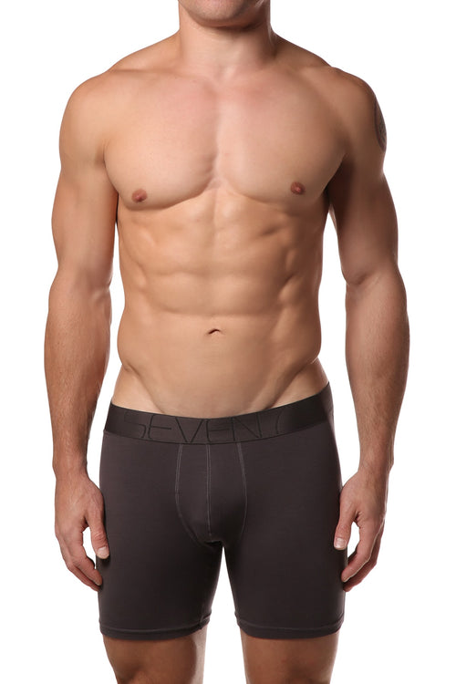 Seven7 Charcoal Grey Boxer Brief - CheapUndies.com
