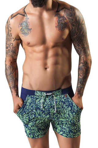 Clever Blue Natadola Swim Trunk