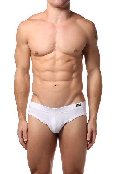 Gigo White Full Jock Brief - CheapUndies.com
