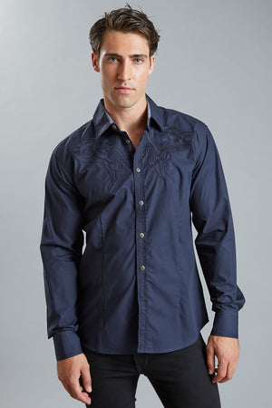 Young Republic Navy Taylor Button-Up