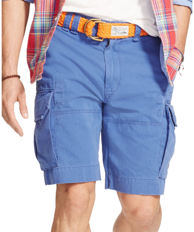 e49ff3efe Polo Ralph Lauren Navy Relaxed-Fit Chino Cargo Shorts - CheapUndies.com
