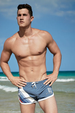 Body Tech Blue Jock Swim Short