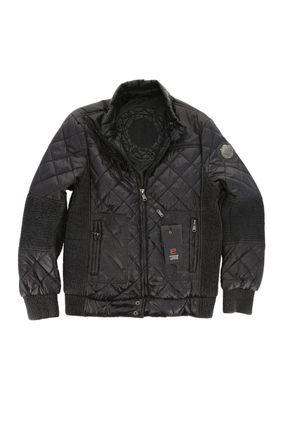 Premium Lounge Jeans Black Puffer Jacket - CheapUndies.com