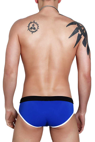 Timoteo Royal Blue Malibu Swim Brief