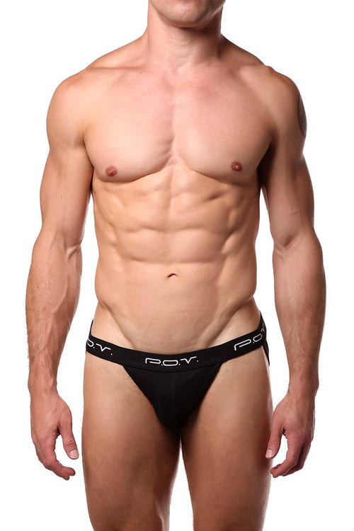 P.O.V. Black Jockstrap - CheapUndies.com
