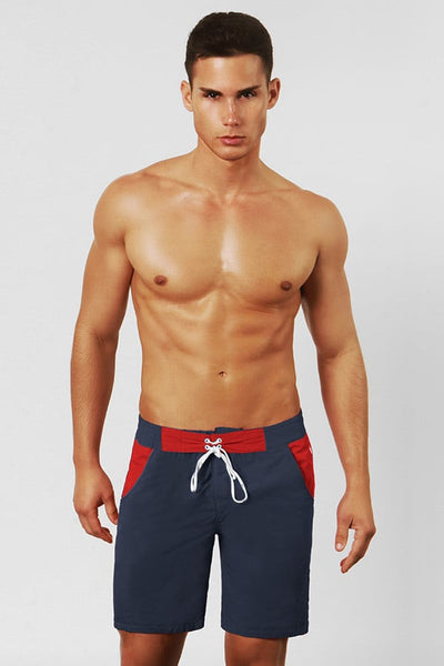BWET Navy Cala Montgo Long Surf Short