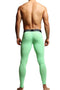 CheapUndies Green Contour Pouch Long Underwear