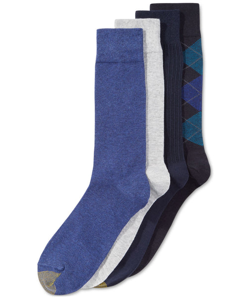 Gold Toe Argyle Special 4-Pack Socks - CheapUndies.com
