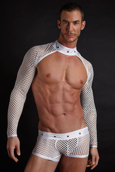 Hardwear White Grommet Sleeves - CheapUndies.com