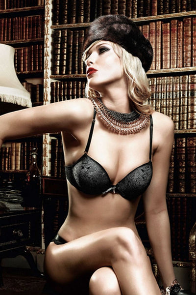 Baci Four-way Lace Convertible Bra with Underwire