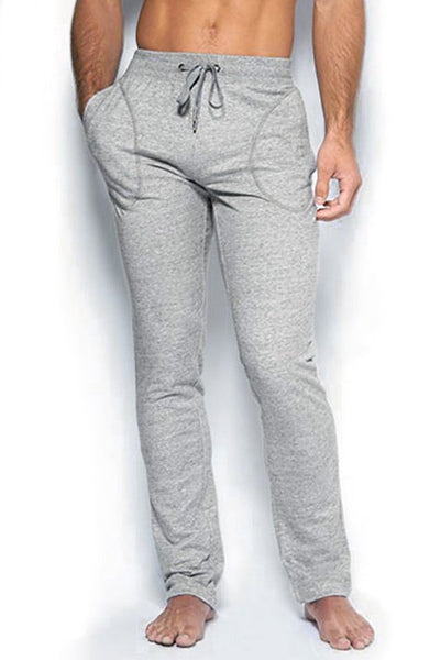C-IN2 Heather Grey Cotton Sweat Pants