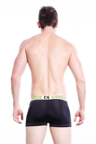 Rivaldi Black & Lime Text Boxer Brief