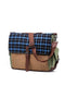 Something Strong Blue & Olive Messenger Bag