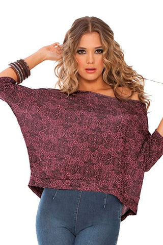 Fiory Pink Safari Tormenta Top